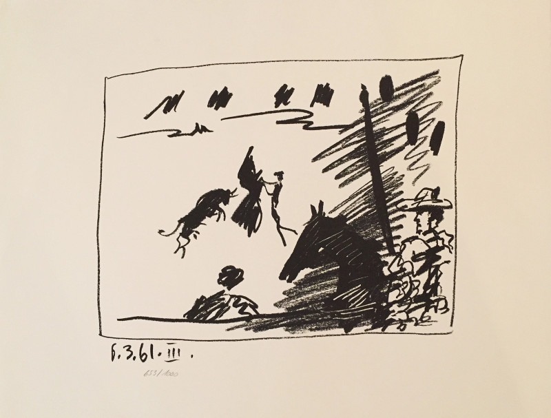 Pablo Picasso, Toros III, 1961