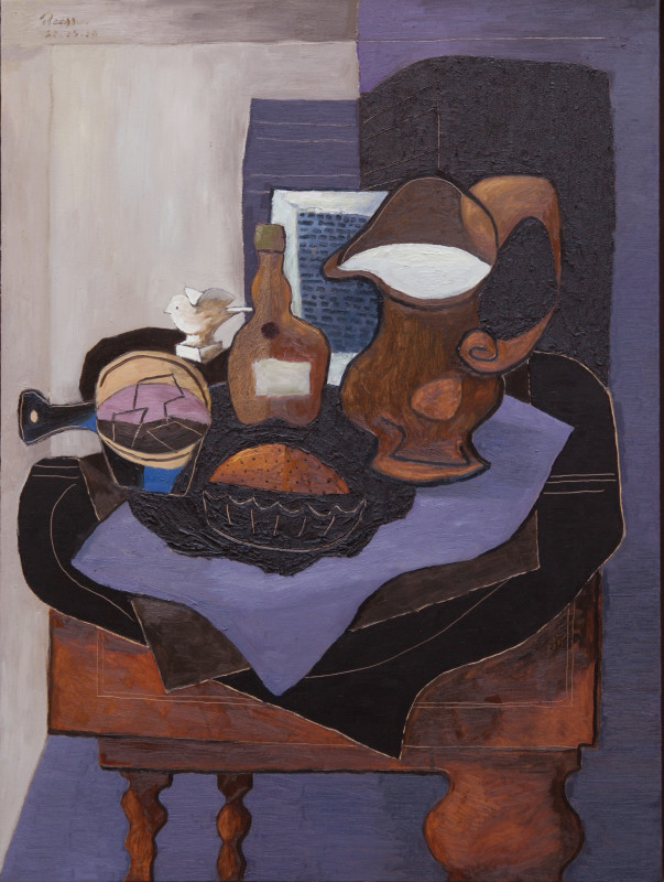 Erik Renssen, Still life with a chocolate soufflé, 2009
