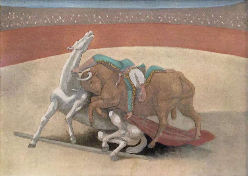 Pablo Picasso, Courses de taureaux, 1924