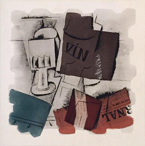 Pablo Picasso, Le Journal, 1914
