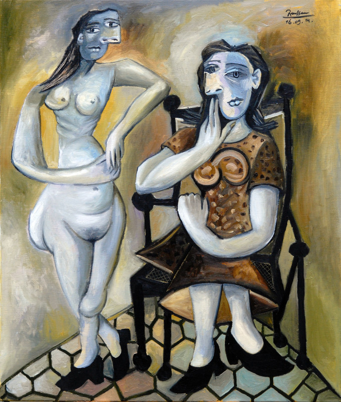 Erik Renssen, Two women, 2014