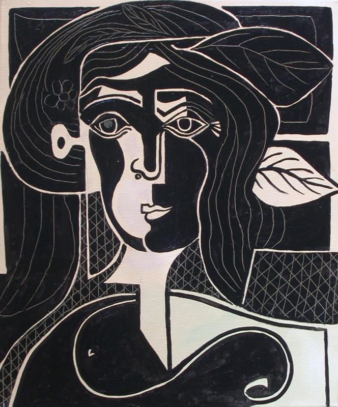 Erik Renssen, Femme à la fenêtre III, 2007