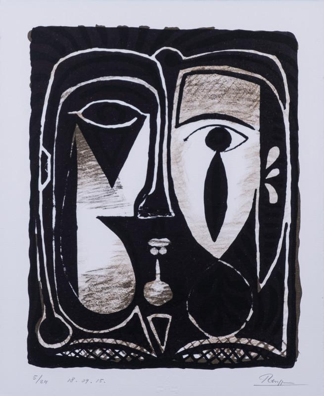 Erik Renssen, Abstract figure I, 2015