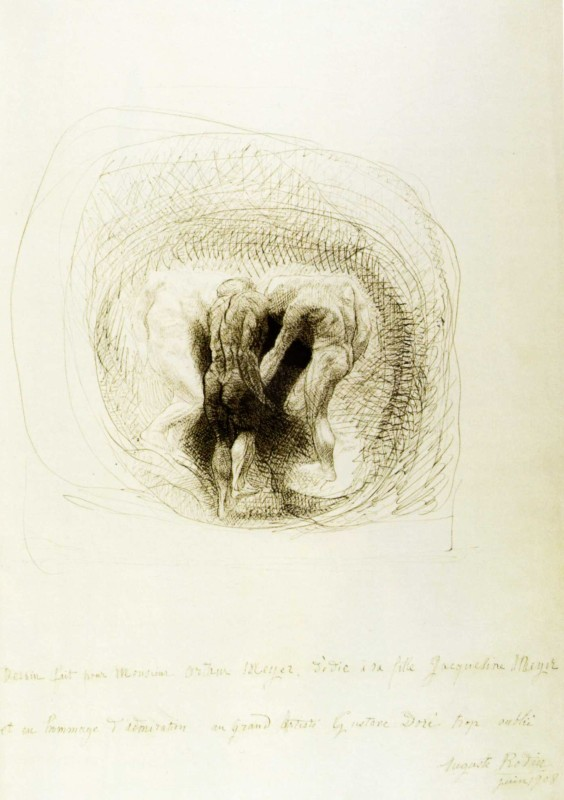 Auguste Rodin, The Three Shades, 1908