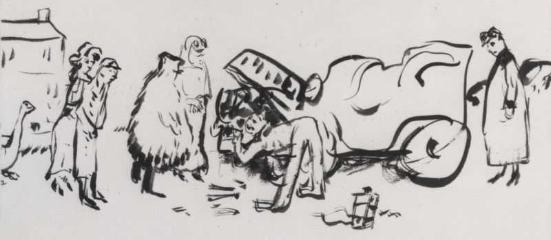 Pierre Bonnard, Breakdown, 1905