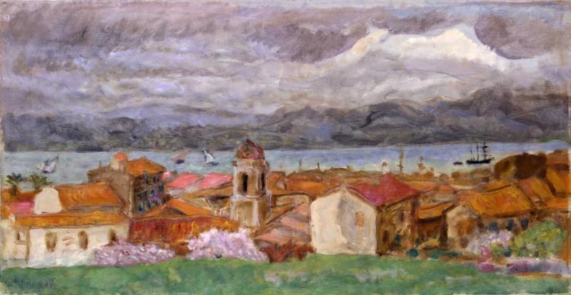 Pierre Bonnard, Ville du Midi (Saint-Tropez), 1914