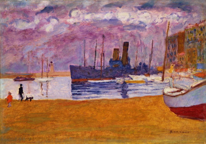 Pierre Bonnard, Port de Cannes