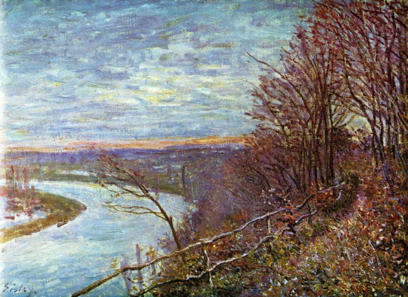 Alfred Sisley, Le Loing, c.1881