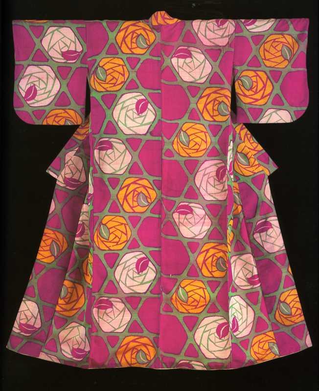 Kimonos from the Montgomery Collection of Japanese Folk Art, Woman's kimono , 1912-26