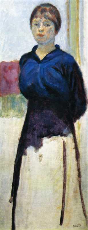 Pierre Bonnard, Femme en Bleu, c.1915