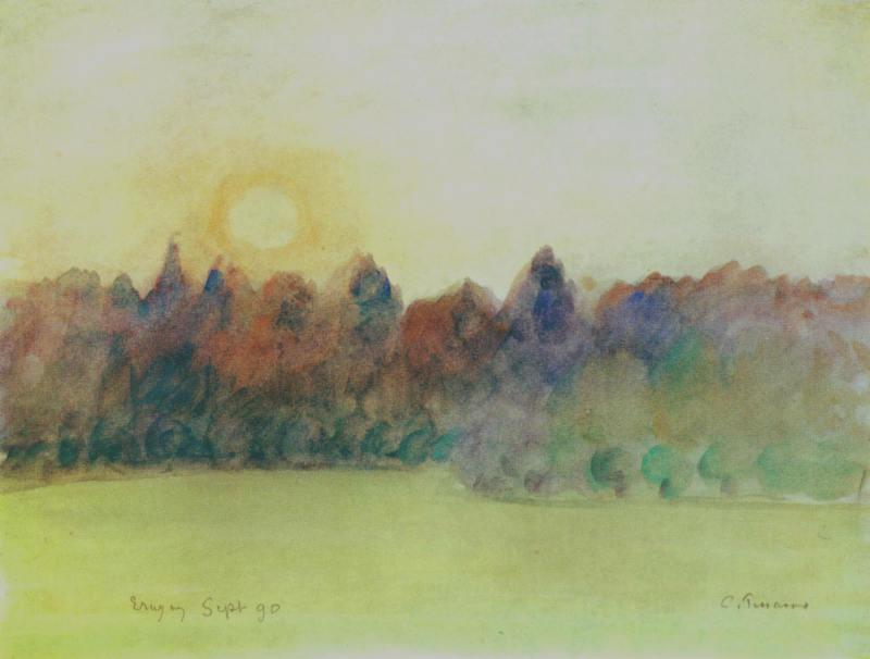 Camille Pissarro, Eragny , 1890