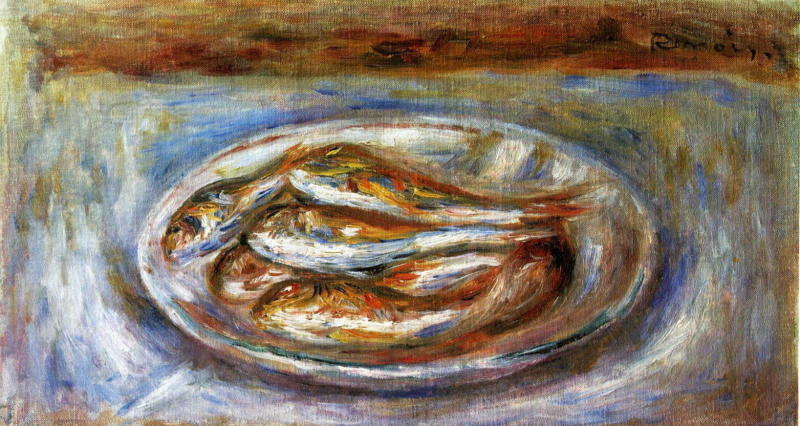 Pierre-Auguste Renoir, Fishes, c.1915
