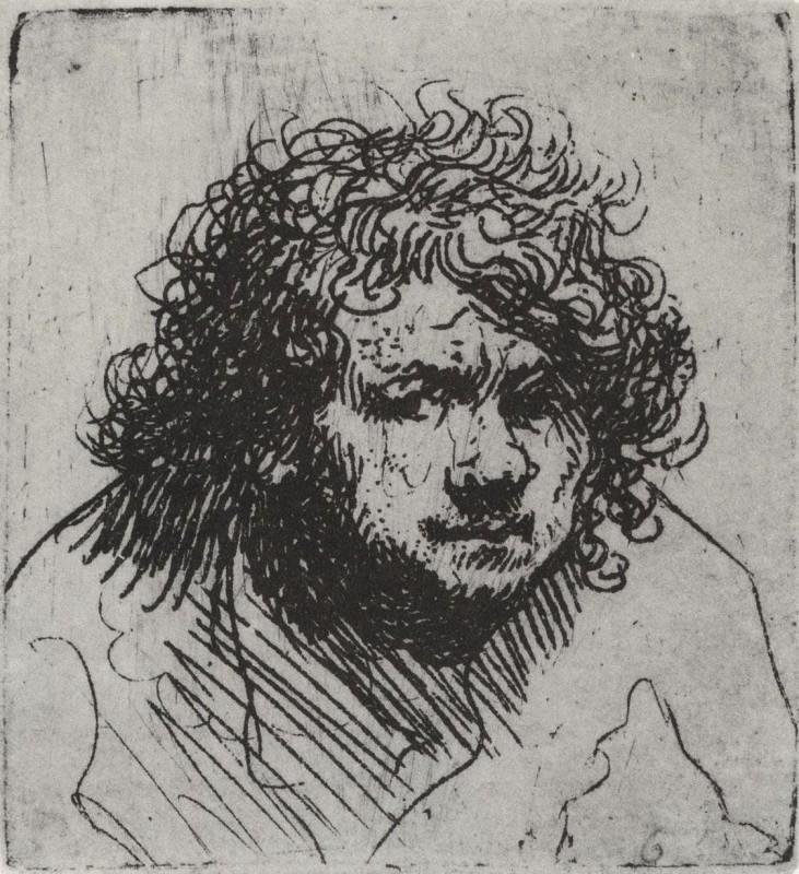 Rembrandt van Rijn, Self-portrait with Hat
