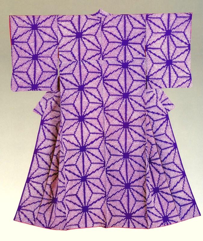 Kimonos from the Montgomery Collection of Japanese Folk Art, Woman's kimono , 1930's-40's