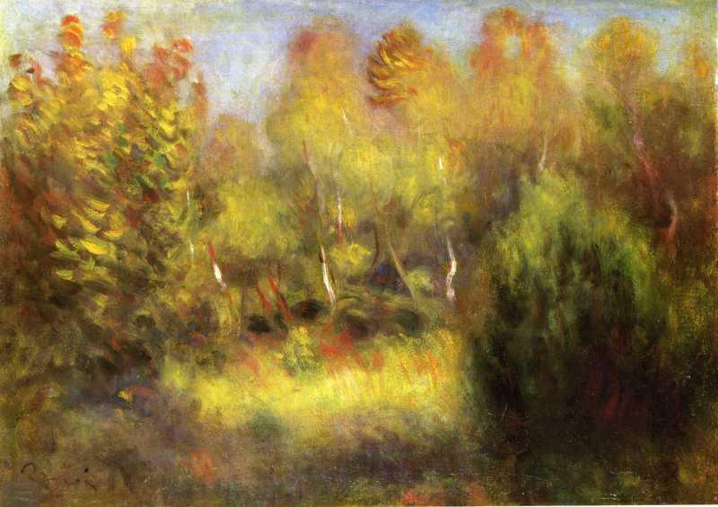 Pierre-Auguste Renoir, La Foret