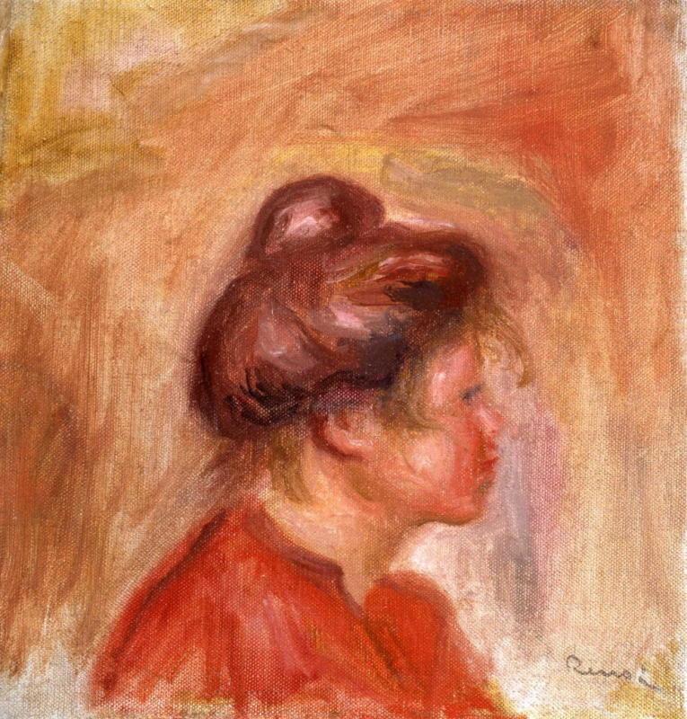 Pierre-Auguste Renoir, Jeune Fille en Rouge