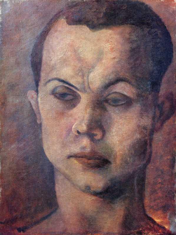 Pavel Tchelitchew, Head of a Man