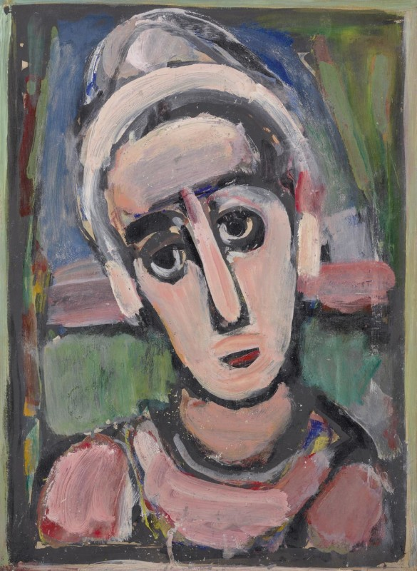 Georges Rouault, Young Clown