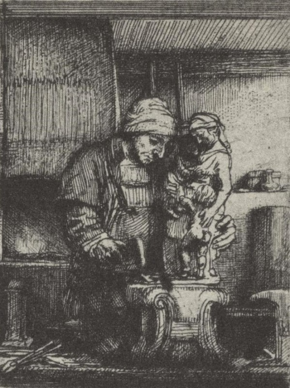 Rembrandt van Rijn, The Goldsmith (and his family)
