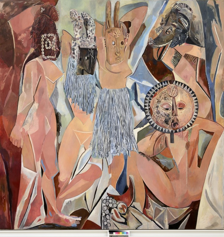 Wolfe von Lenkiewicz, Demoiselles D'Avignon , 2014