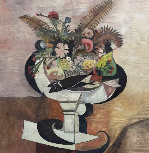 Wolfe von Lenkiewicz, Still Life with Fish, 2015