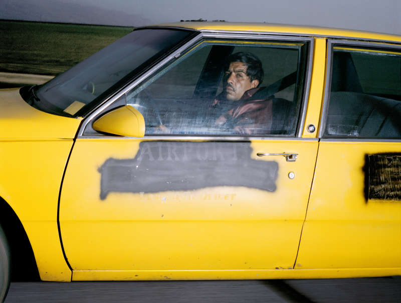 Man heading south at 73 mph on Interstate 5 near Buttonwillow Drive outside Bakersfield, California, at 5:36 p.m. on a Tuesday in March 1992
