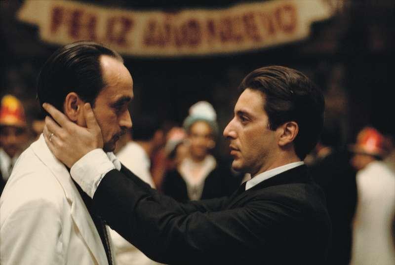 The Kiss (Michael and Fredo), Godfather II, 1973