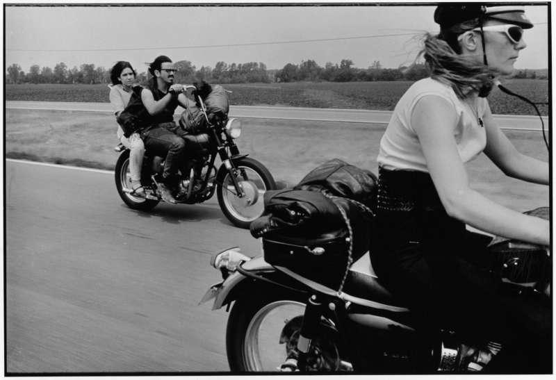 From Dayton to Colombus, Ohio, The Bikeriders Portfolio, 1966