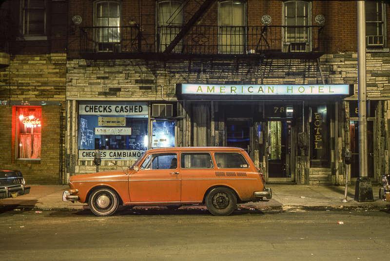 American Hotel Car, Volkswagen 1600 Squareback Hoboken, NJ, 1974