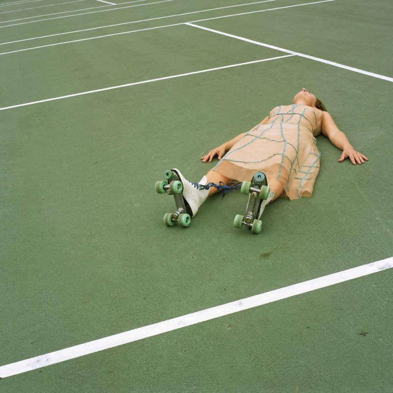 Cig Harvey, Square Knot, Self Portrait, Rockport, Maine, 2004