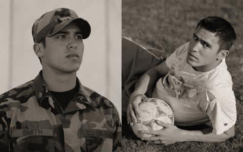 Alan Smith, Soccer Player, USAFA, 2001