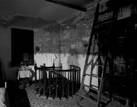 Camera Obscura, Image of Habana Looking Southeast in Room with Ladder, 2002