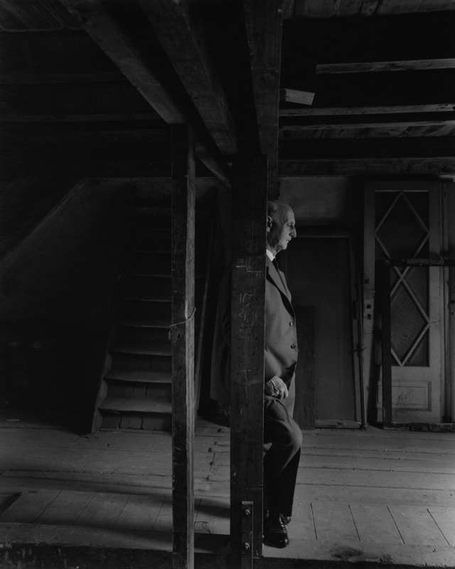 Otto Frank, The Anne Frank House, Amsterdam, 1960