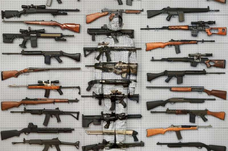 Hiding in New York No. 9, Gun Rack, 2013