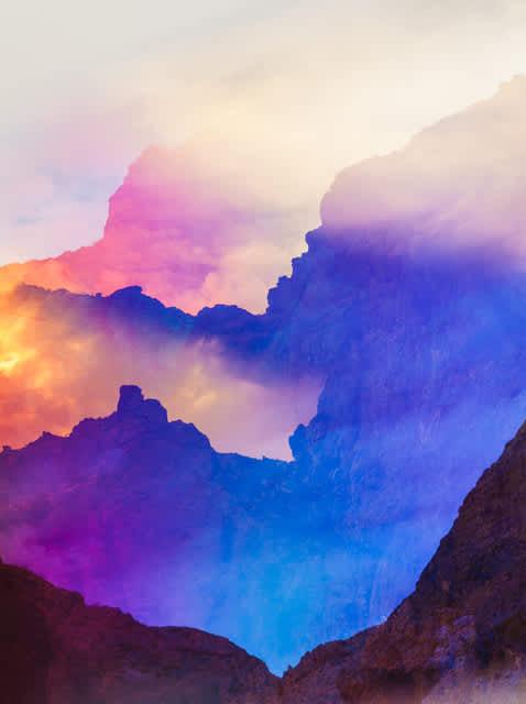 Terri Loewenthal, Psychscape 37 (Arizona Hot Springs, AZ), 2018