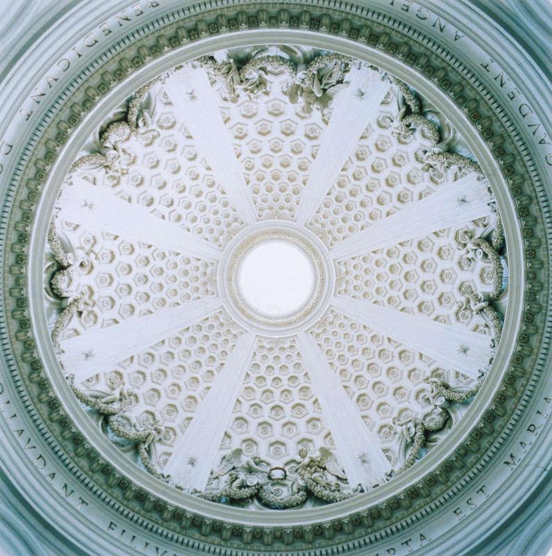 Dome #26011, Santa Maria dell Assunzione, Arricia, Italy, 1997