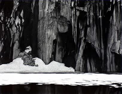 Frozen Lake and Cliffs, Kaweah Gap Sequoia National Park, California, 1927