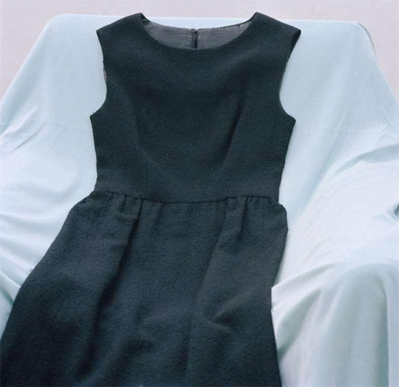 Reclining Black Dress, 2007