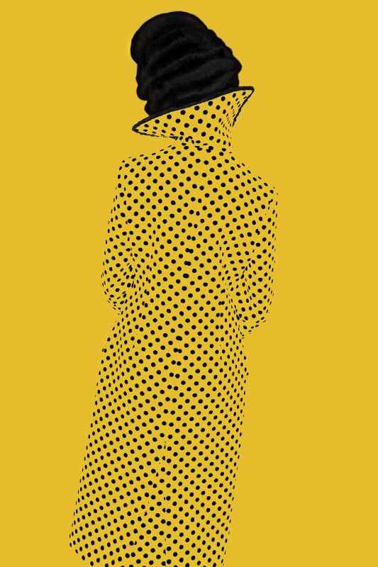 Erik Madigan Heck, Without a Face (Yellow), Old Future, 2013