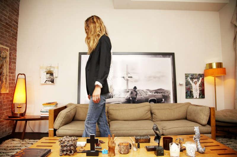 Erin in her Living Room, 2008