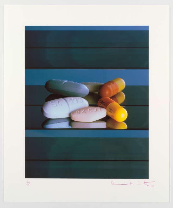 Damien Hirst: AIDS/HIV Drugs, 2008