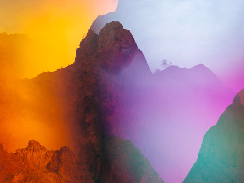 Terri Loewenthal, Psychscape 35 (Lone Rock, AZ), 2018