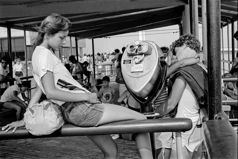 Jesse at Jones Beach, 1983