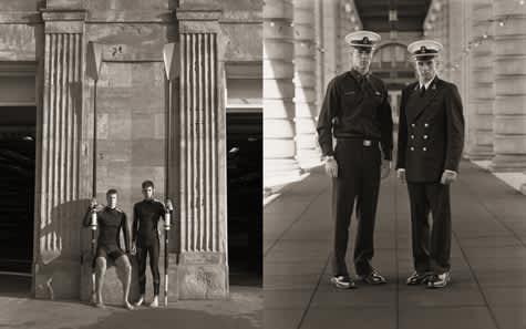 Adam Peck & William Vuillet, Crew, USNA, 2001
