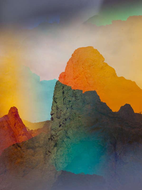 Terri Loewenthal, Psychscape 600 (Arizona Hot Springs, AZ), 2018