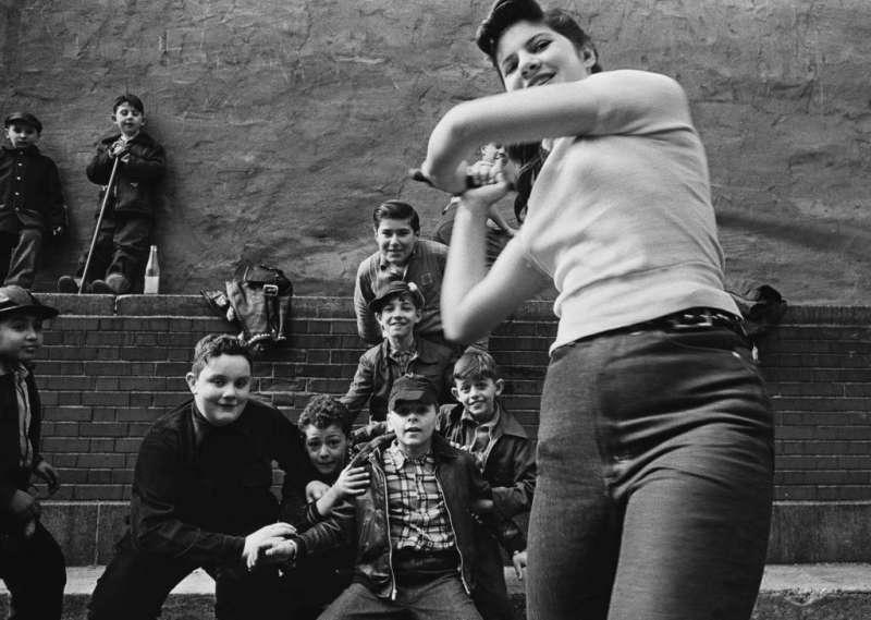 Stickball Gang, New York, 1955