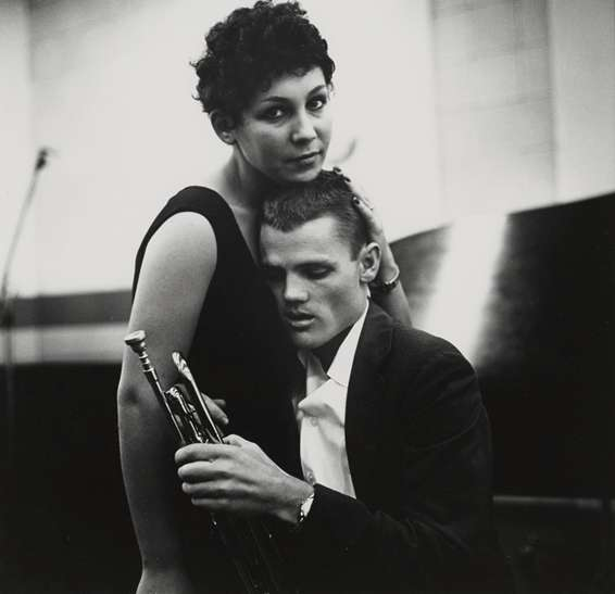 William Claxton, Chet Baker and Lili, Hollywood, 1954