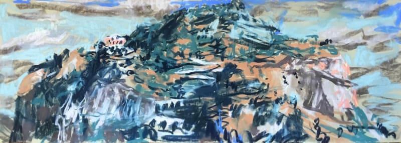 Tyga Helme, Fire-Opal Night, Monte Pellegrino, 2020