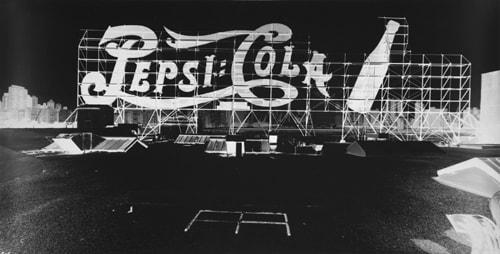 Vera Lutter, Small Logo, Pepsi Cola: September 8, 2003