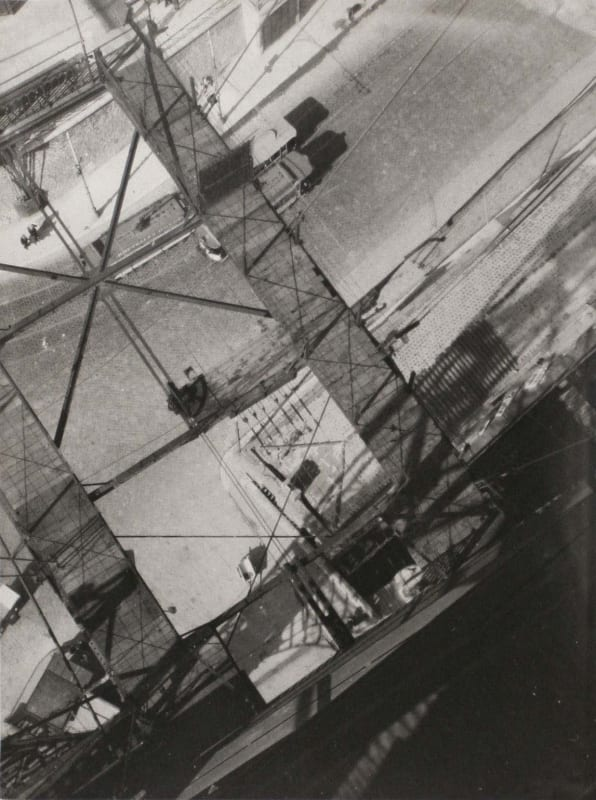 László Moholy-Nagy, View from the Pont Transbordeur, c. 1929